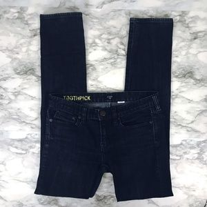 J. Crew Factory Toothpick Skinny Jeans 27